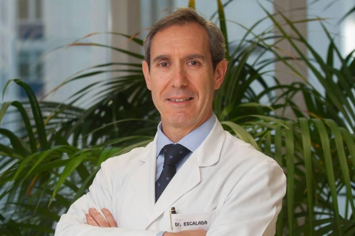 Javier Escalada, presidente de la Sociedad Española de Endocrinología y Nutrición (Seen)