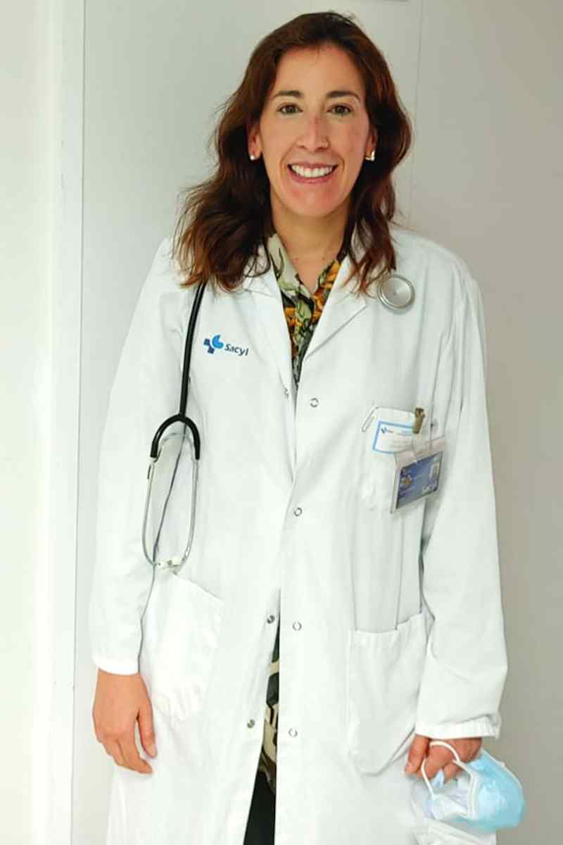 Lucía López Corral, hematóloga del Hospital Universitario de Salamanca.