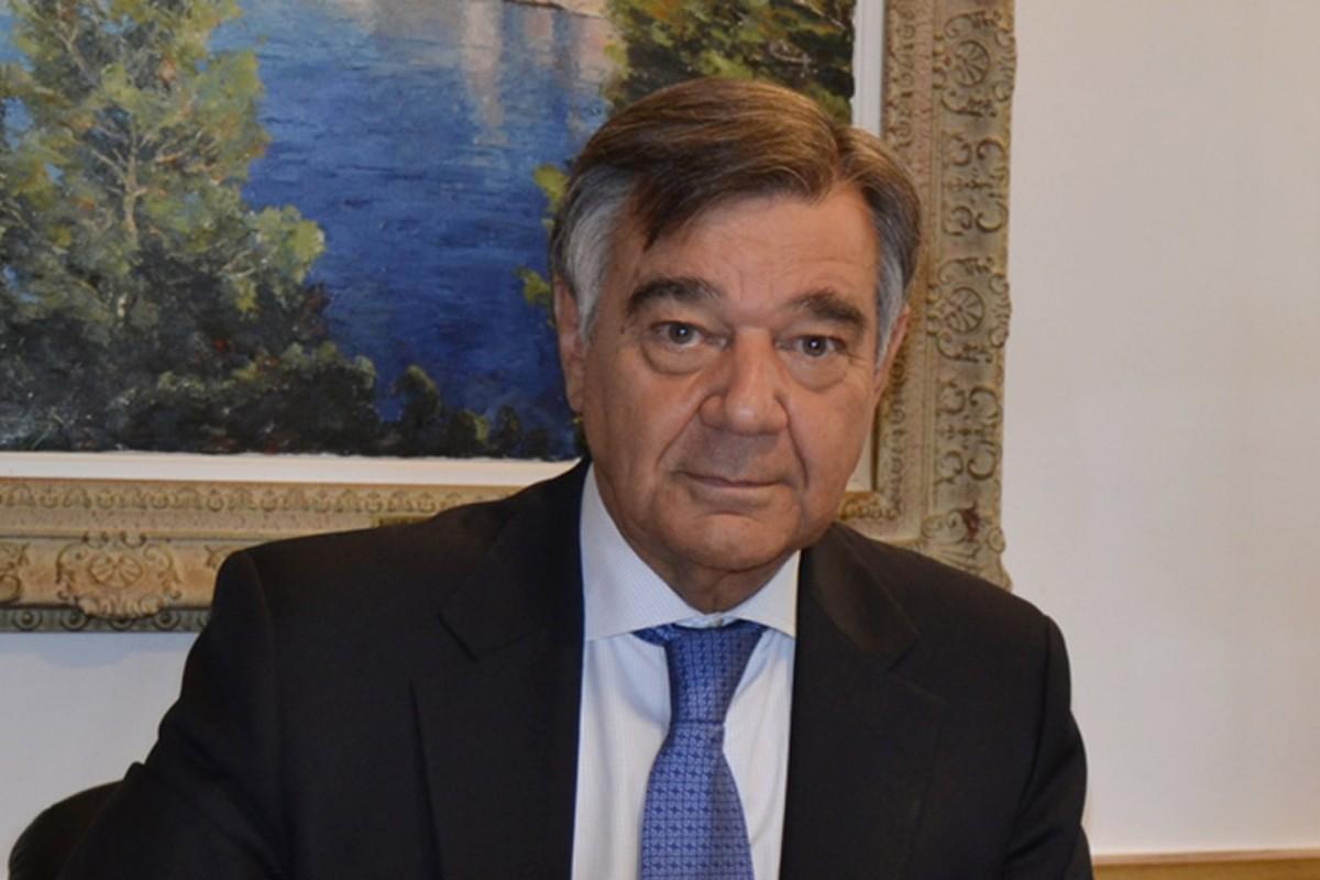 Luis González, presidente del COF de Madrid