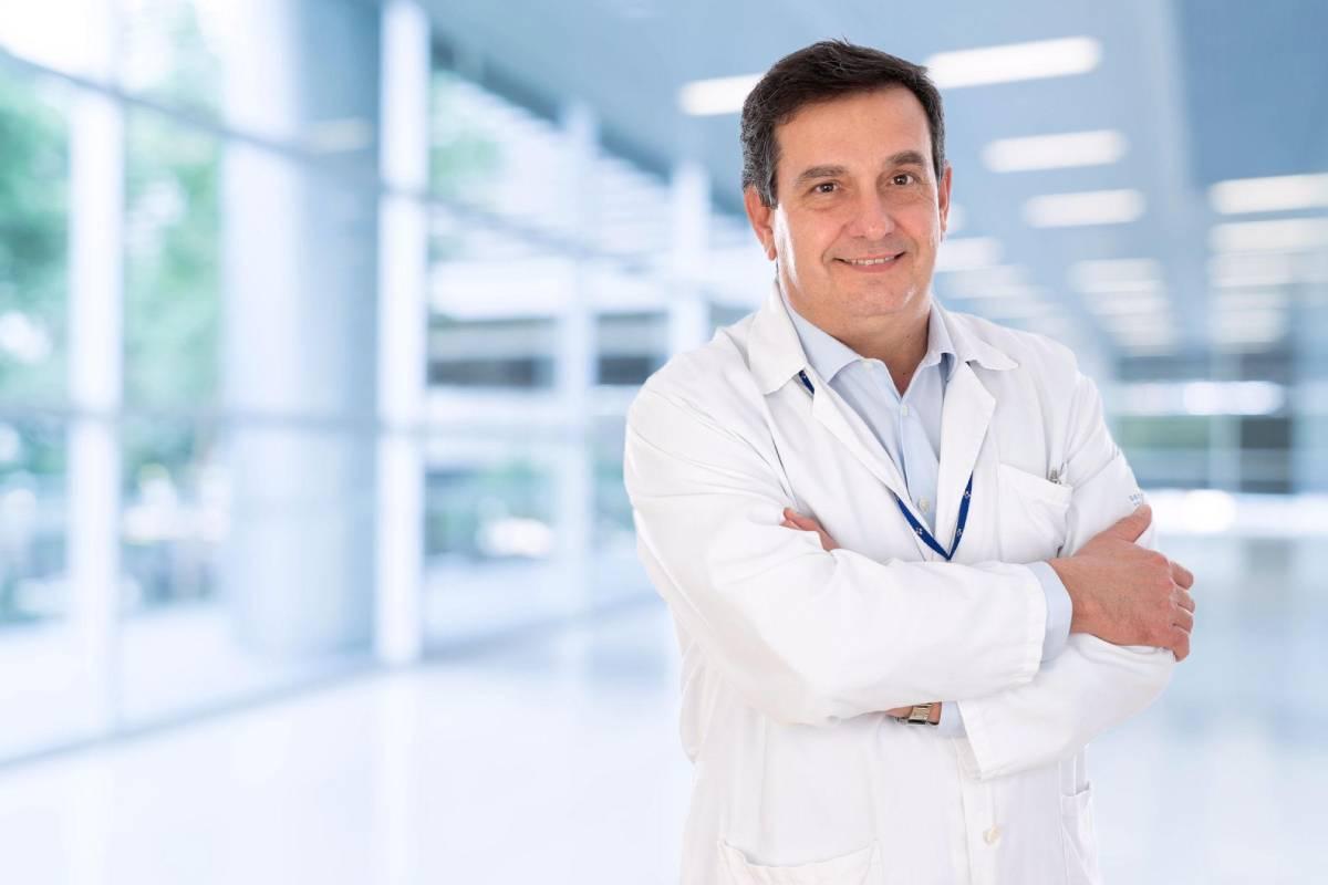 Luis Antuña, director del área de gestión cl�nica de Urgencias del Hospital Universitario Central de Asturias y presidente del Colegio de Médicos de Asturias