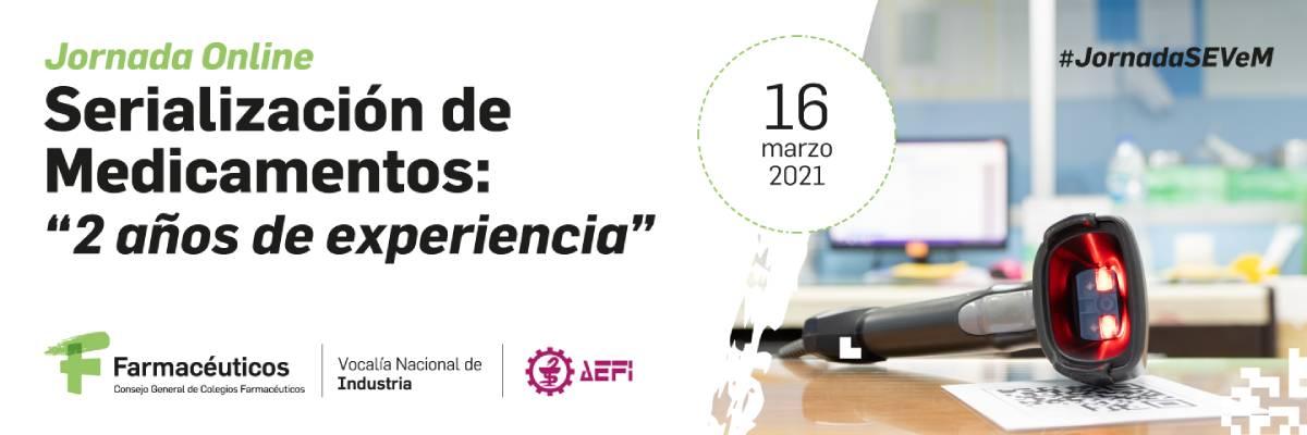 Jornada de serialización de medicamentos, organizada por el Consejo de COF y AEFI.
