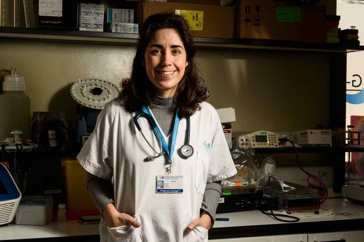 Rebeca Bailén, hematóloga del Hospital General Universitario Gregorio Marañón, de Madrid.