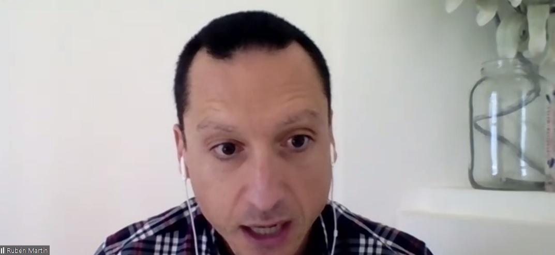 Rubén Mart�n Lázaro, secretario de Adefarma.