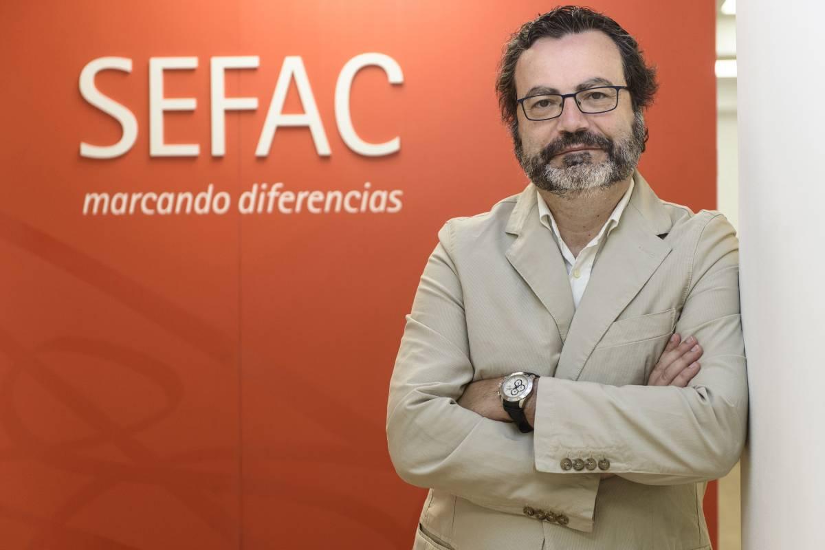 Eduardo Satué de Velasco, vicepresidente 2º de Sefac.