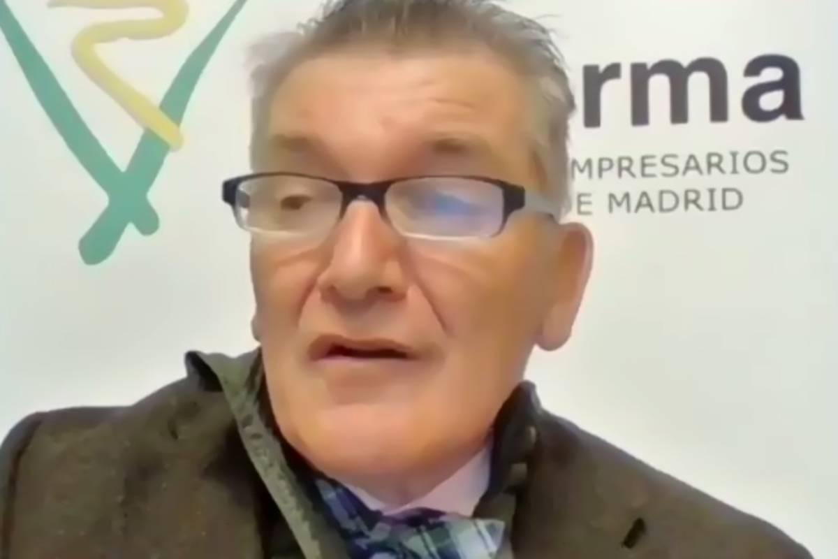 Cristóbal López de la Manzanara, presidente de Adefarma.