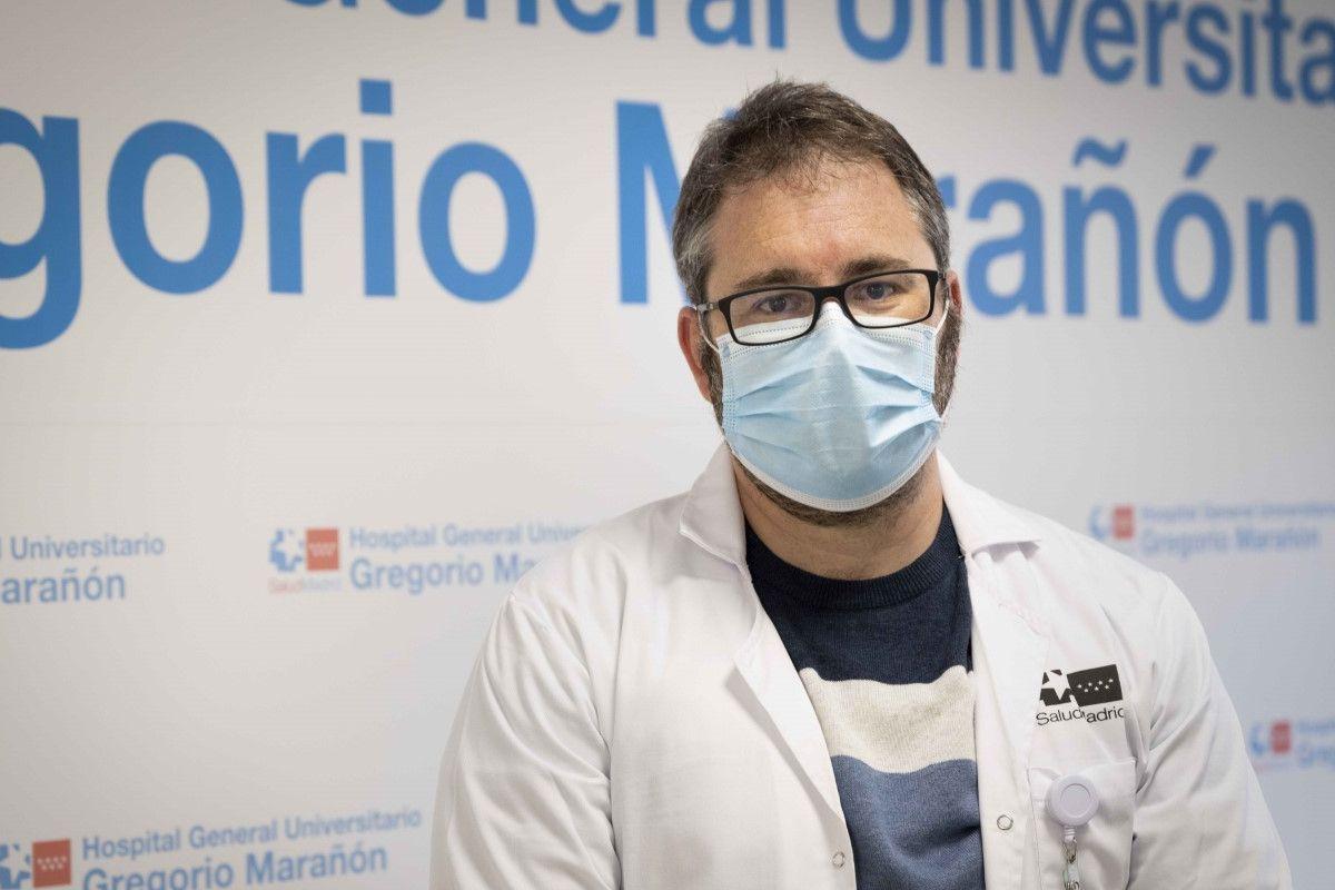Rafael González Cortés, intensivista de la UCI pediátrica del Hospital Gregorio Marañón, de Madrid.