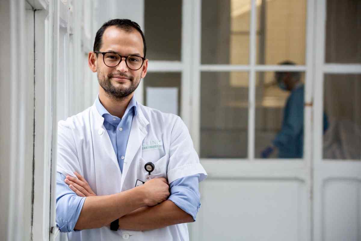 Valentín Ortiz, hematólogo del Hospital Clínic de Barcelona.