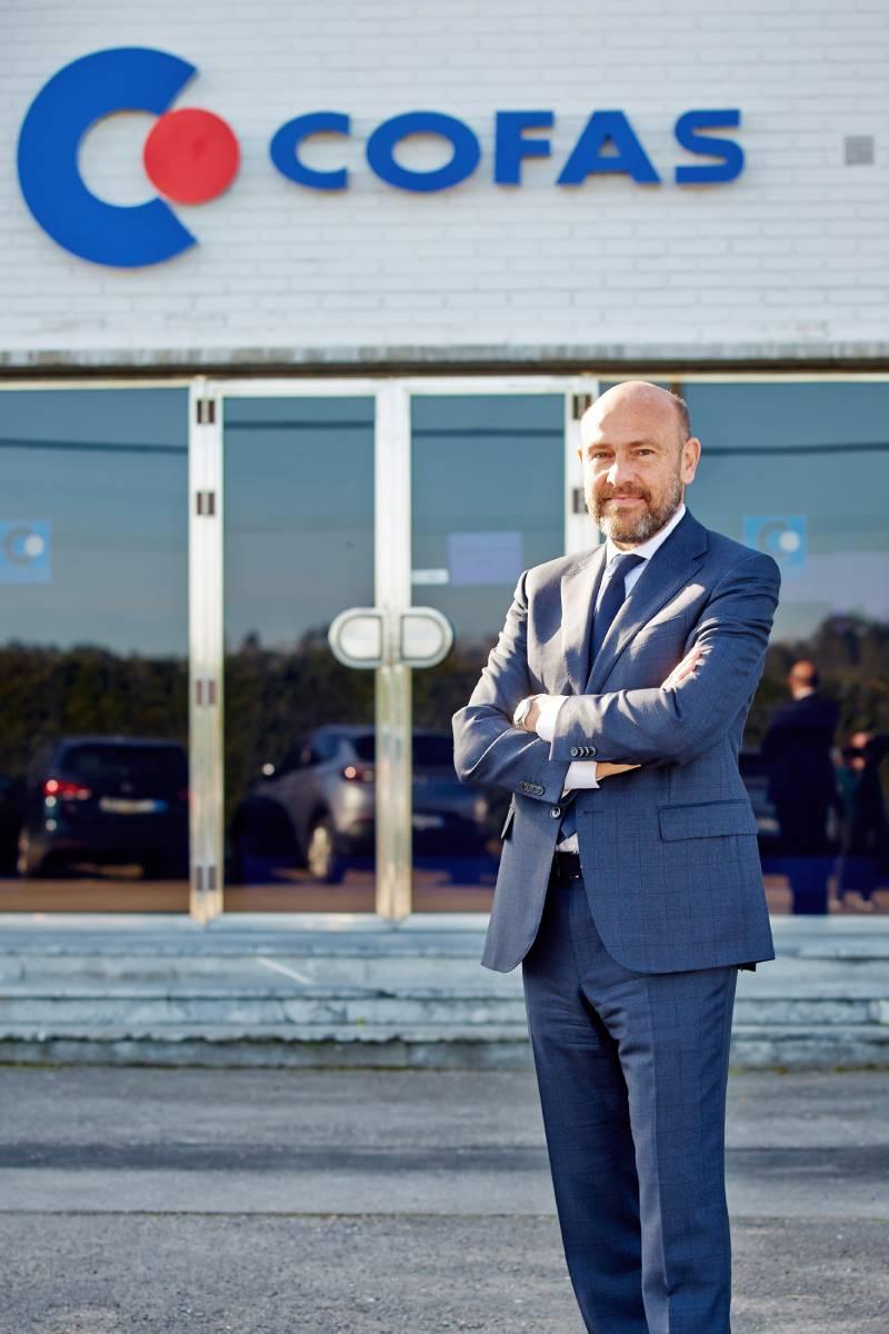 Alfonso Roquero destaca que uno de los principaleshitos de Cofas ha sido la centralización en 1995 en único almacén de los tres existentes.