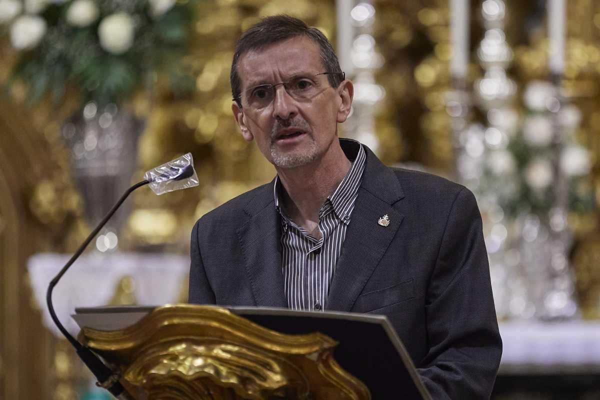 El hermano Amador Fernández.