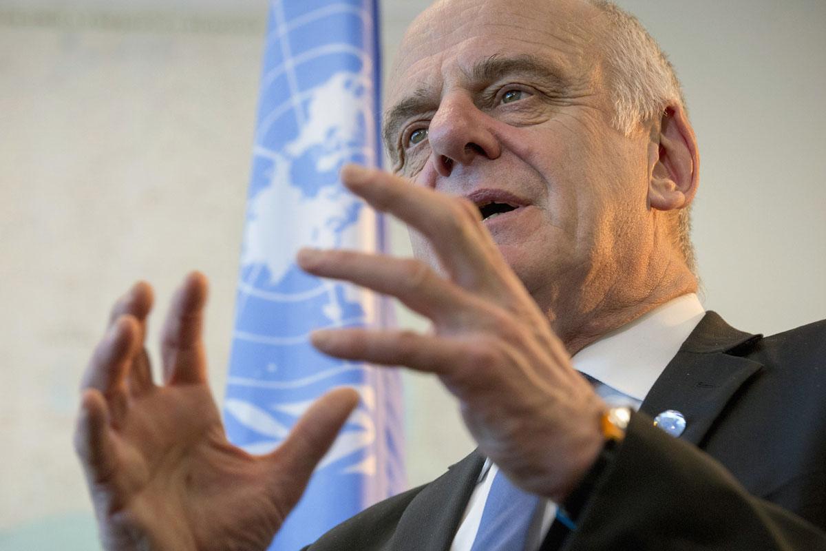 David Nabarro, enviado especial sobre Covid-19 de la Organización Mundial de la Salud