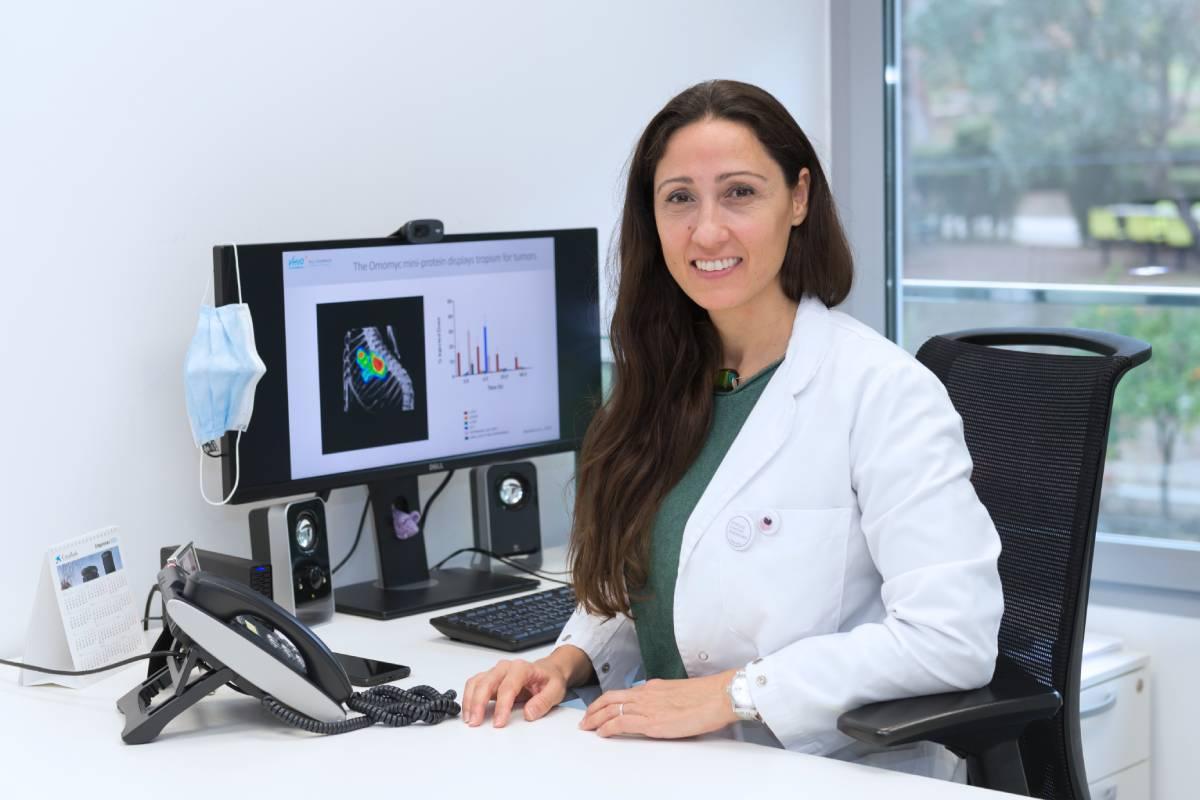 Laura Soucek, investigadora principal del Grupo de Modelización de Terapias Antitumorales en Ratón del Vall d'Hebron Instituto de Oncología (VHIO), profesora ICREA y cofundadora y directora ejecutiva de Peptomyc SL.