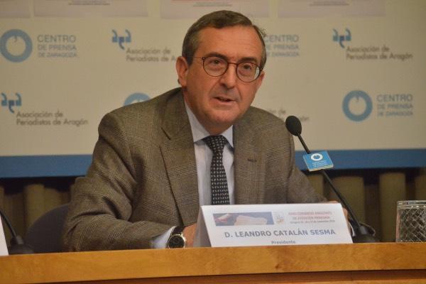 Leandro Catalán, presidente de Fasamet.