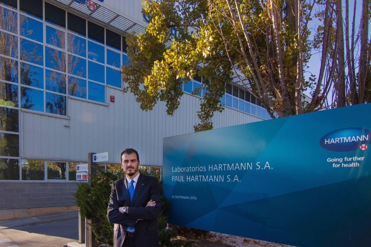 Marc Pérez Pey, vicepresidente y director regional de Europa Occidental y Norte de África en Hartmann.