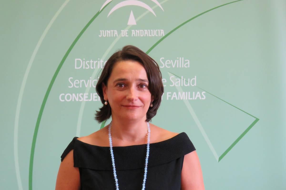 Ingrid Ferrer López, farmacéuticade Atención Primaria en Sevilla y miembro de Sefap.