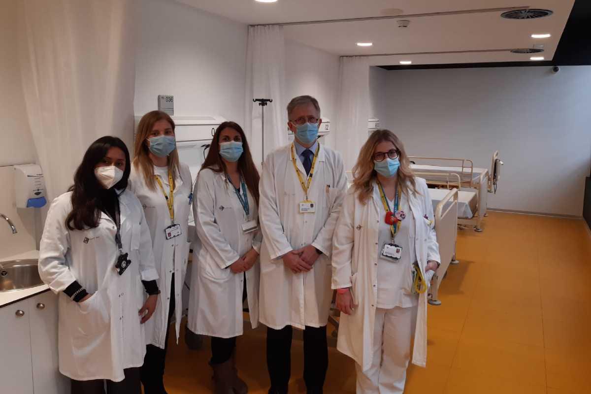 Nueva unidad de ensayos de fase I onco-hematológicos del Sant Pau.