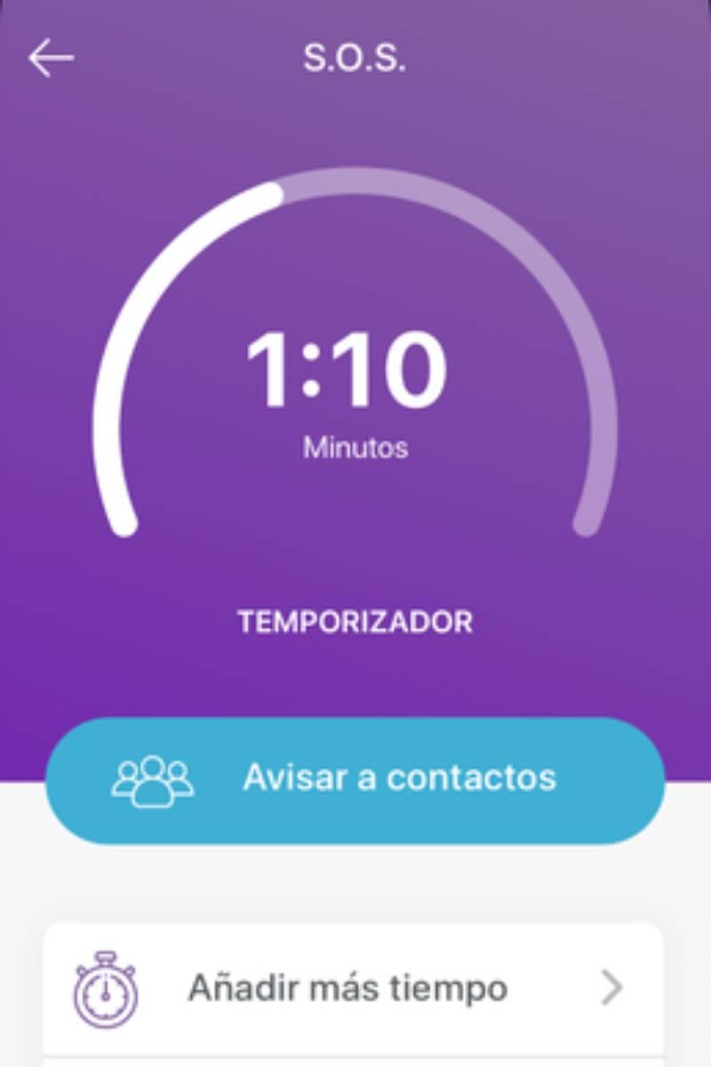 El botón SOS es una de las prestaciones de la nueva app para pacientes con epilepsia.