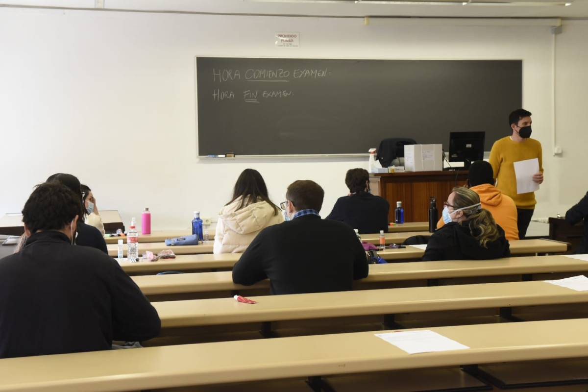 La celebración de los exámenes MIR, EIR y FIR ha estado marcada por las medidas para evitar contagios.