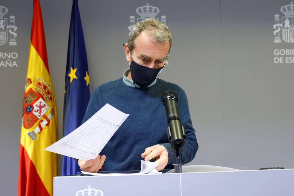 Fernando Simón, director del Centro de Coordinación de Alertas y Emergencias Sanitarias (CCAES) (EFE/Zipi)