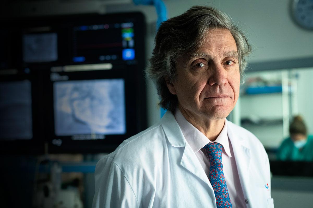 Fernando Alfonso, jefe de Cardiología del Hospital de La Princesa de Madrid.