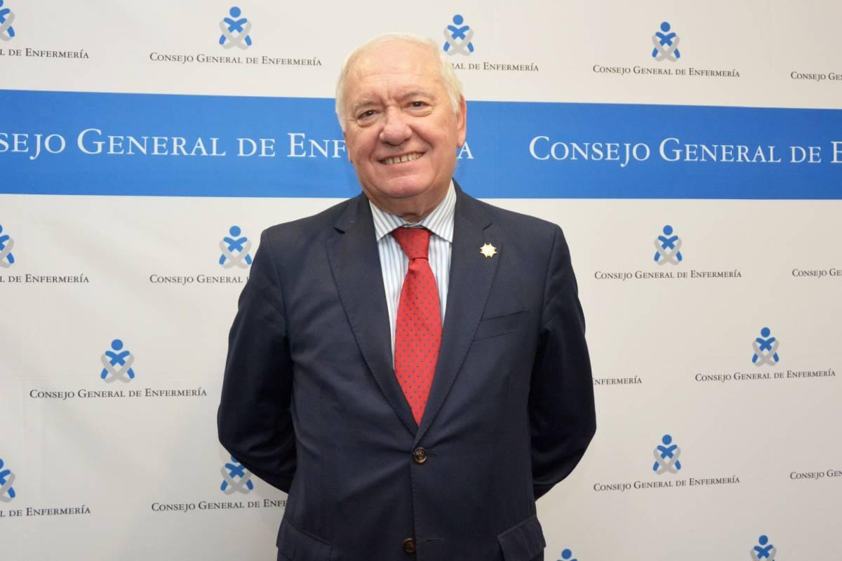 Florentino Pérez Raya, presidente del Consejo General de Enfermería (CGE)