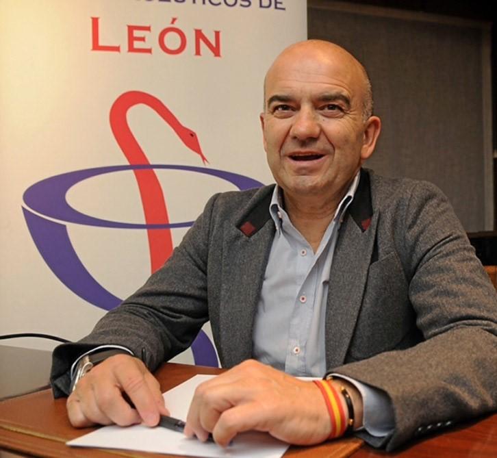 Javier Herradón, presidente del Consejo de COF de Castilla y León y del COF de León.