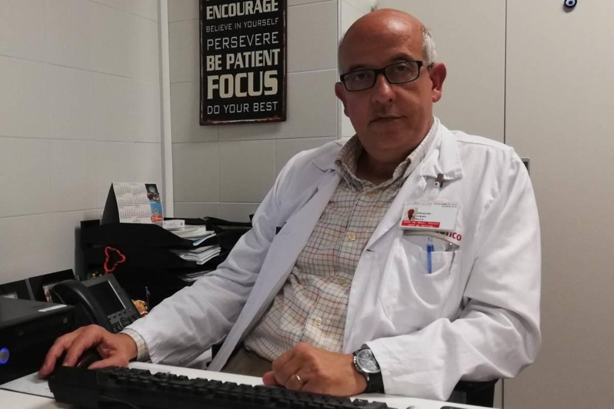Eduardo López Briz, coordinador del Grupo Génesis de la SEFH.