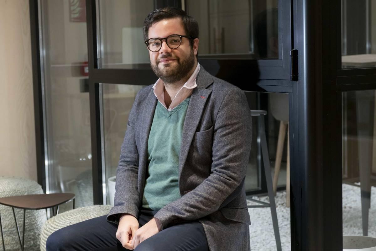 Luis Tejedor, presidente de la Asociación MIR España (AME) (Foto: José Luis Pindado)