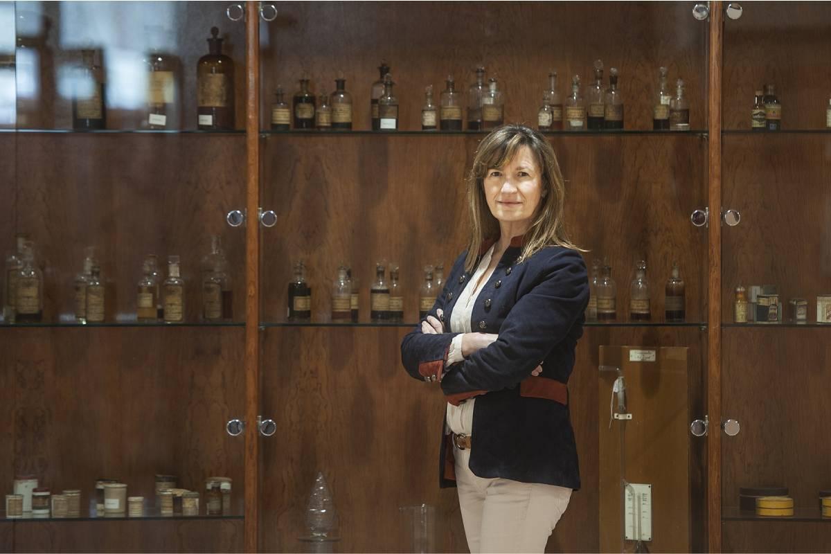 Mirari Ayerbe Díez, nueva decana de la Facultad de Farmacia de la UPV.