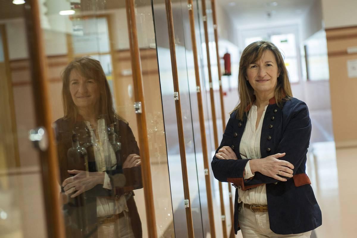 Mirari Ayerbe Díaz, nueva decana de Farmacia de la UPV/ Pedro María Lasaga