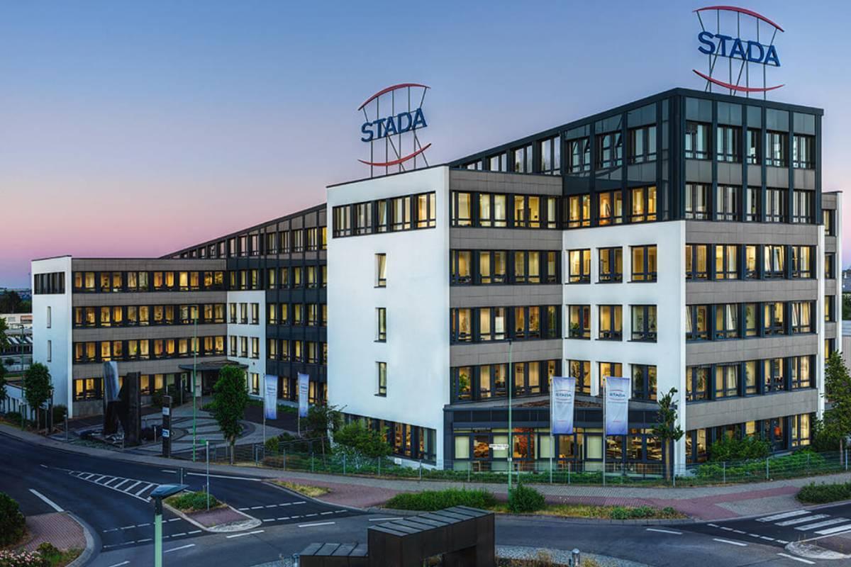 Uno de los edificios de Stada.