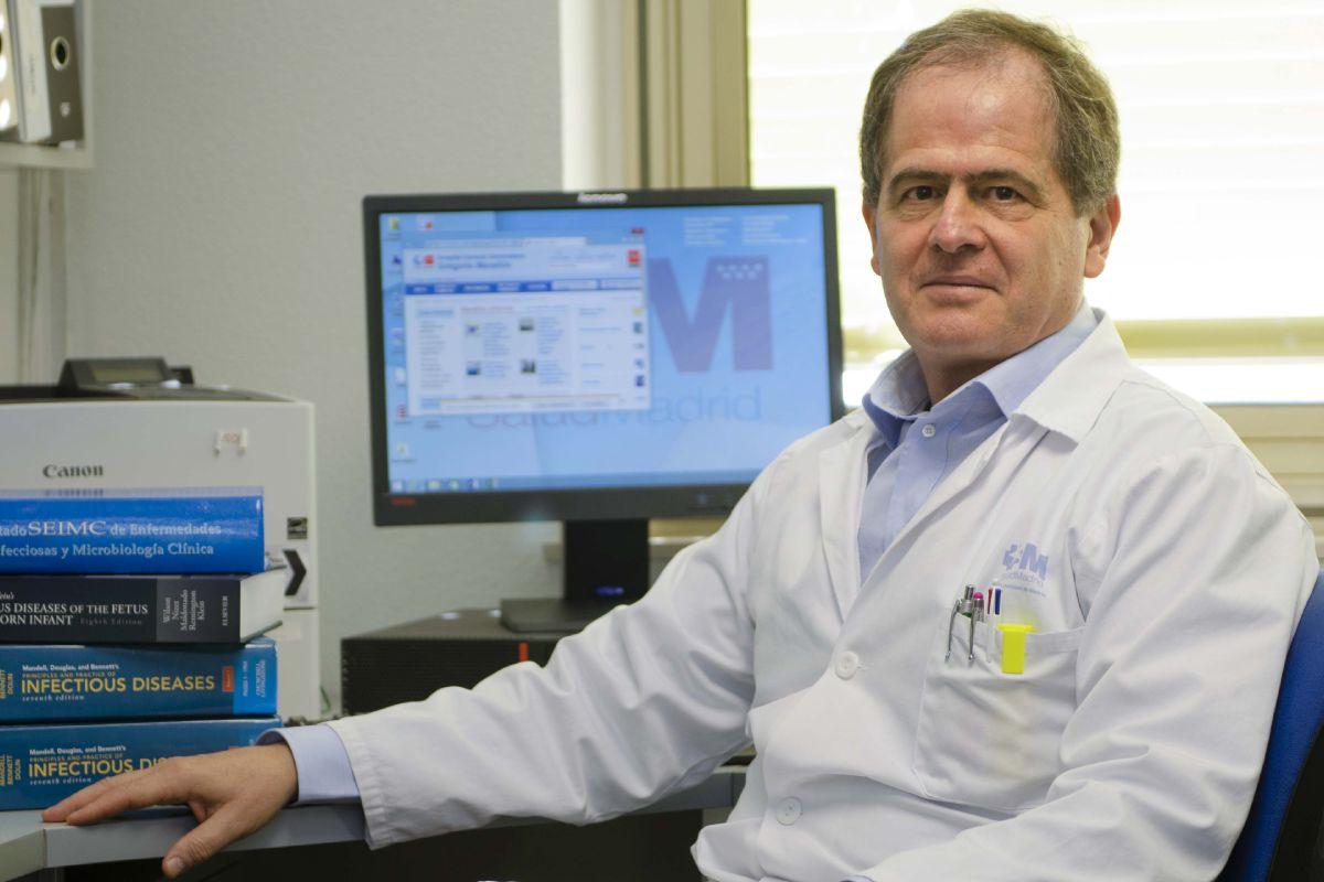 Juan Berenguer, del Hospital Gregorio Marañón de Madrid, centro coordinador del estudio.