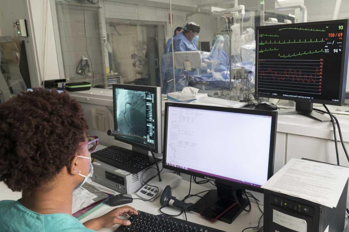 Sala de Hemodinámica Cardíaca de Bellvitge. FOTO: HUB