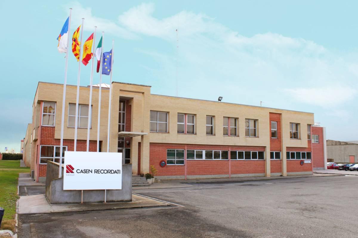 Fábrica en Utebo (Zaragoza) de Casen Recordati.
