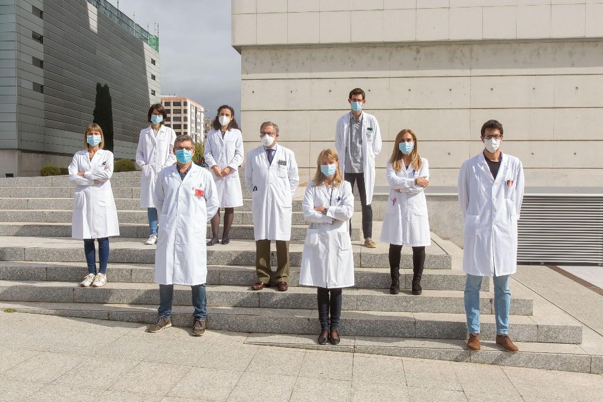 Los investigadores del Cima Universidad de Navarra, Complejo Hospitalario de Navarra y CiberCV.