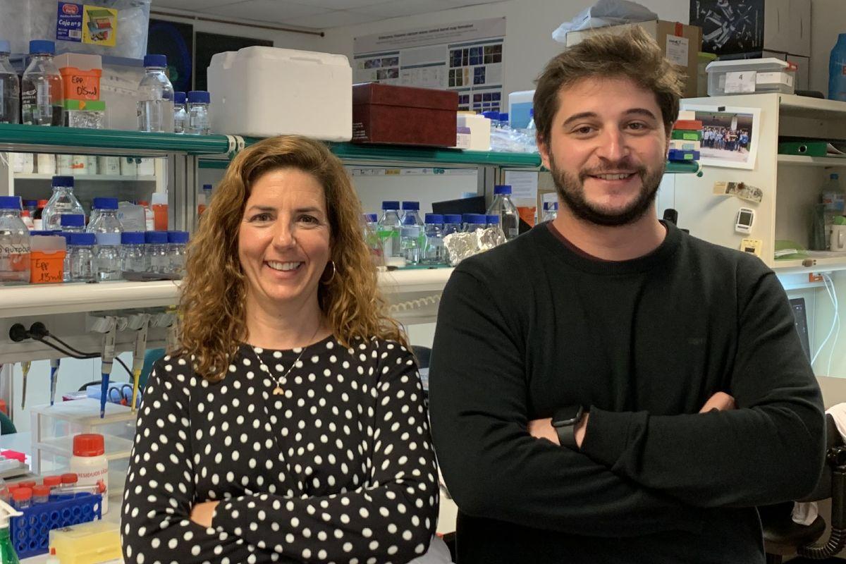 Guillermina López-Bendito y Álvaro Herrero, del Instituto de Neurociencias de la Universidad Miguel Hernández (UMH-CSIC) en Alicante/FOTO: UMC.