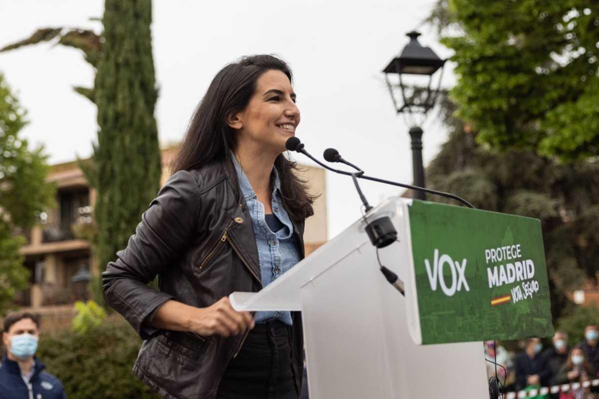 Roc�o Monasterio, candidata de VOX a la presidencia de Madrid.