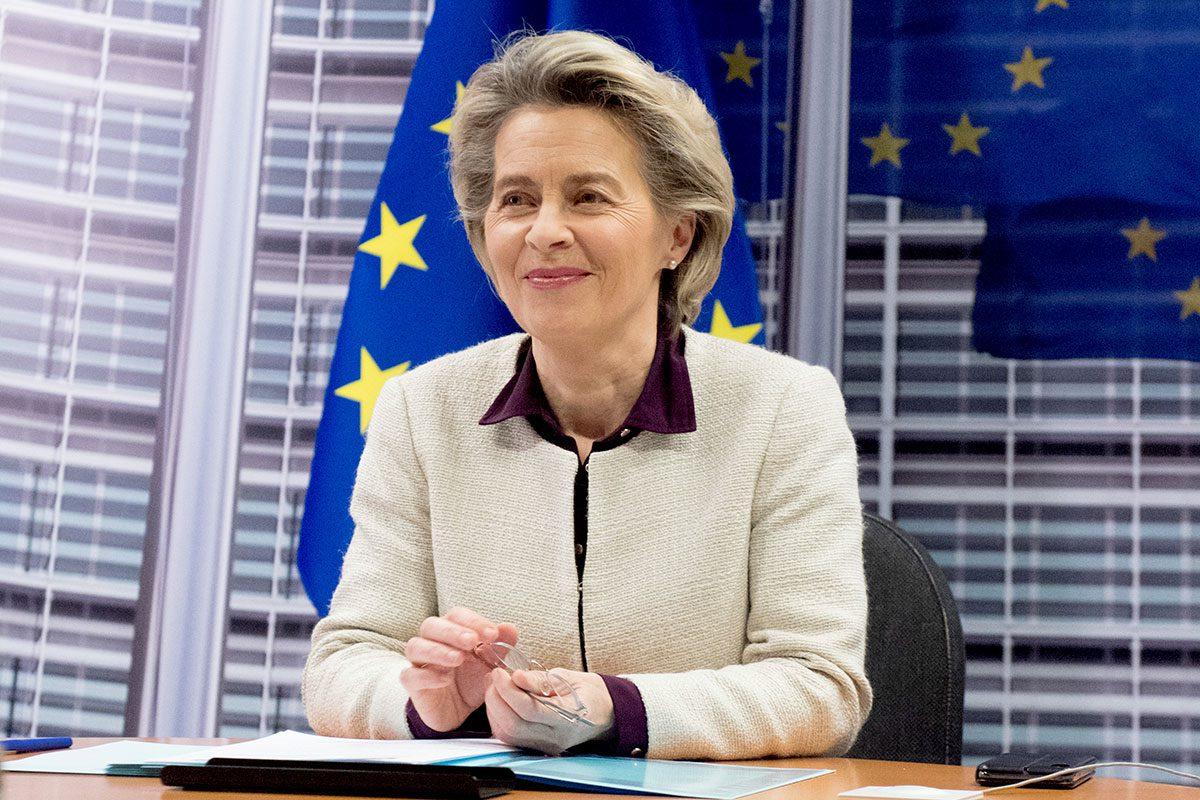 Úrsula von der Layen, presidenta de la Comisión Europea.