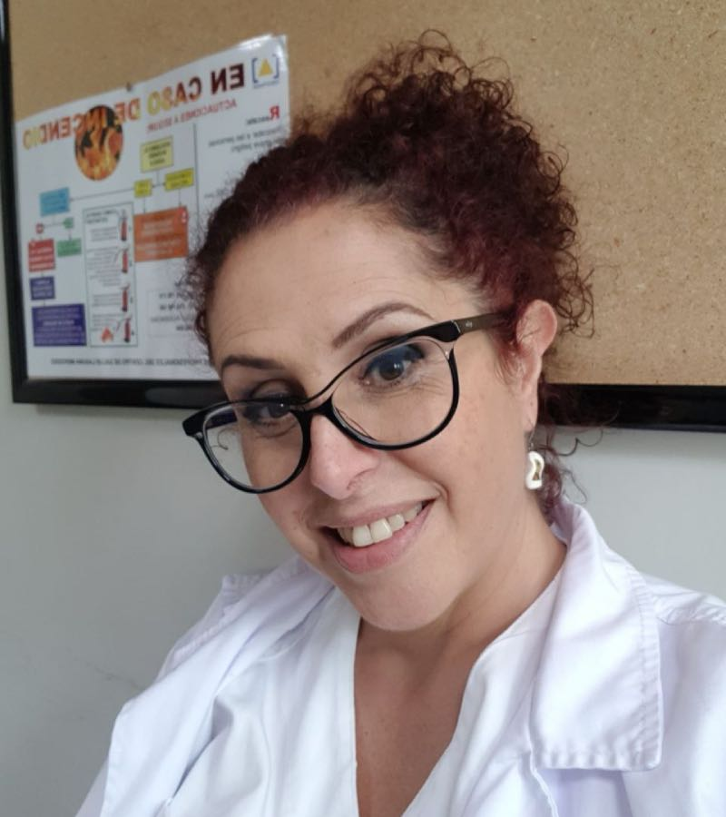 Candelaria D�az, presidenta de Amapcan.