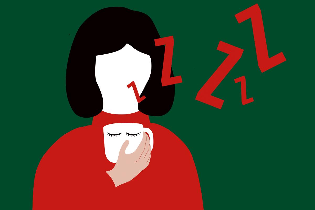 La menor socialización y actividad física a causa de la pandemia provocan cansancio físico y psíquico. ILUSTRACIÓN: Miryam Veros.