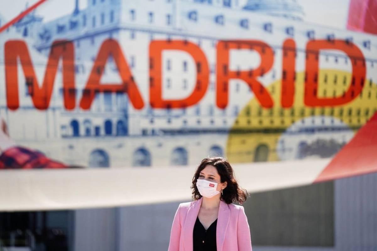 La candidata popular a la presidencia de Madrid, Isabel Díaz Ayuso.