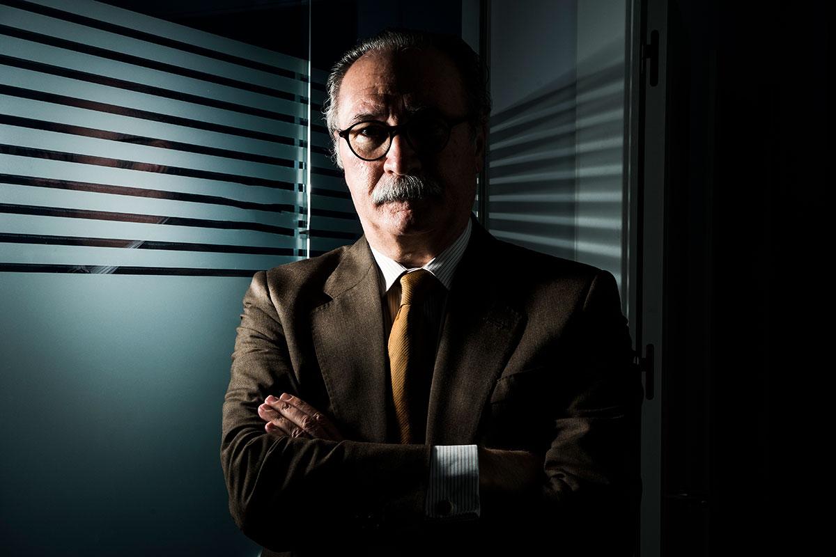 Carlos Jiménez Ruiz, presidente del 2º Congreso Nacional COVID-19 y de SEPAR. (FOTO: Luis Camacho).