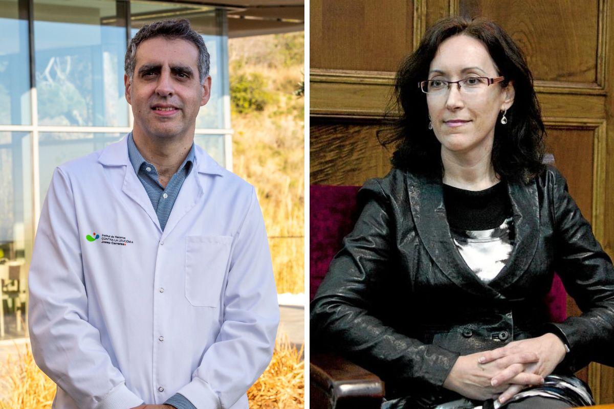 Manel Esteller y Aurora Pujol, autores del primer estudio mundial sobre epigenética en covid-19. FOTO: DM.