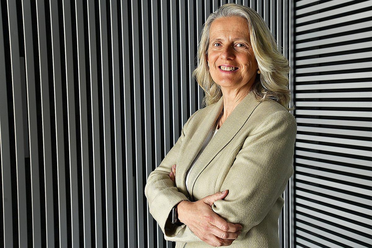 María Ángeles Figuerola, directora general del Sistema Español de Verificación de Medicamentos.