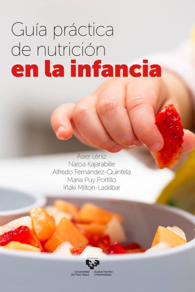 Portada de la gu�a de la UPV sobre nutrición infantil.