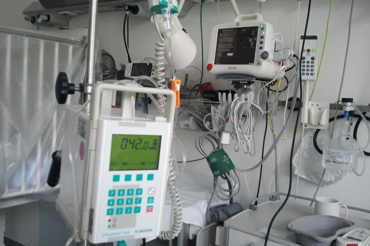Sala de cuidados intensivos