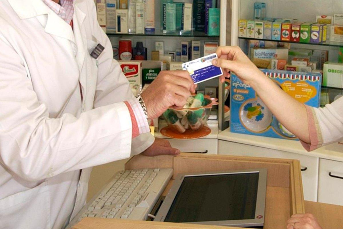 Farmacia, tarjeta sanitaria