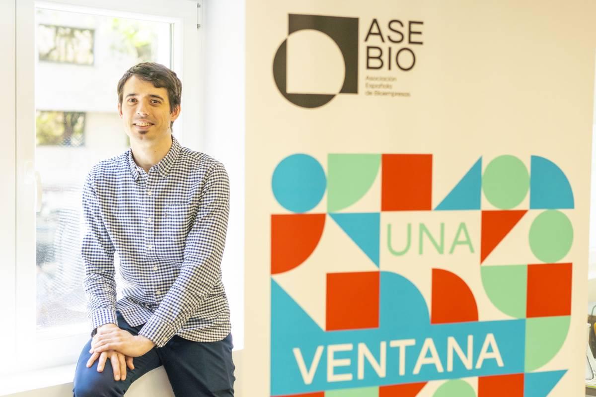 Ion Arocena, director general de Asebio (Ángel Navarrete).