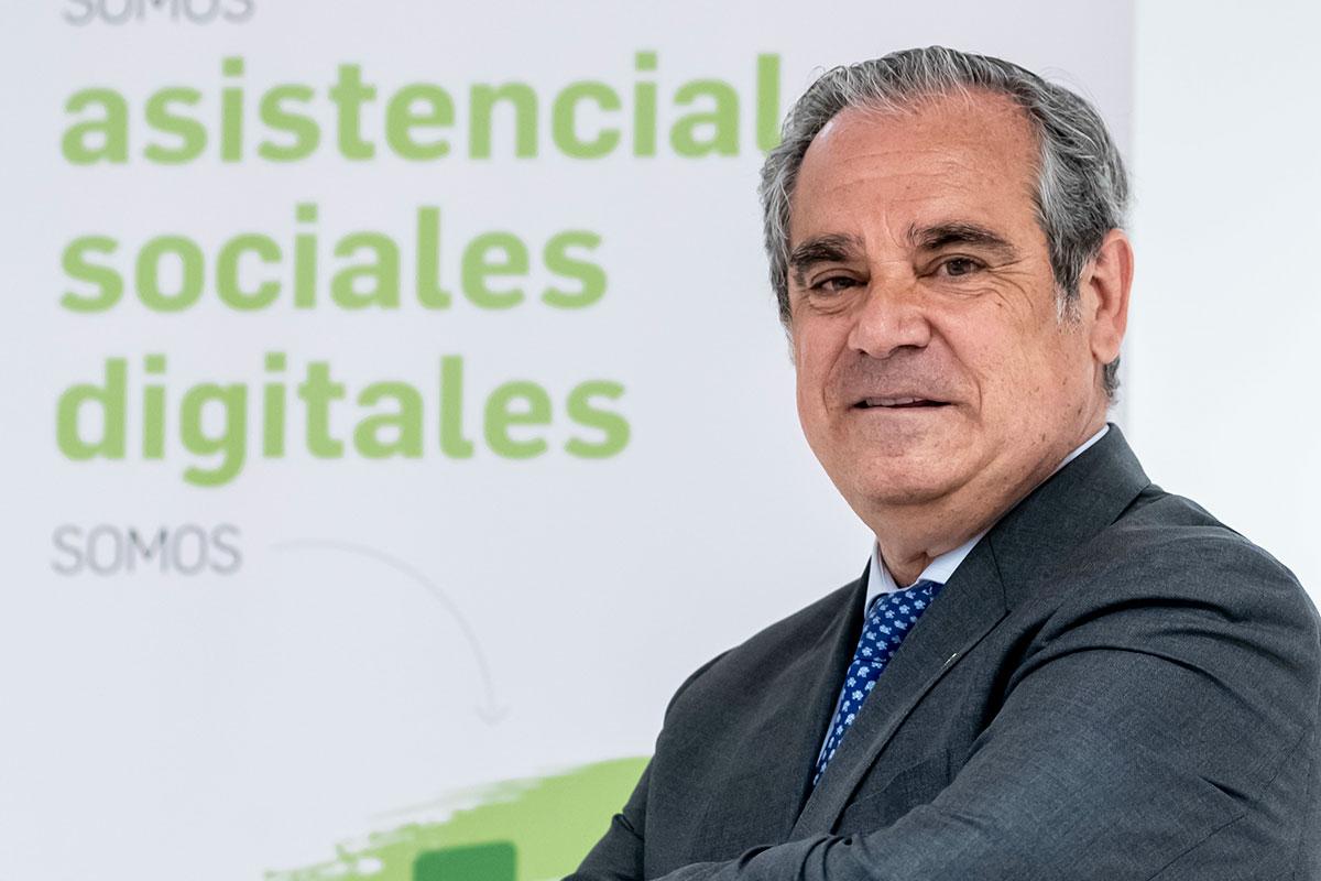 Jesús Aguilar, presidente en funciones del Consejo General de COF. /JL. Pindado.