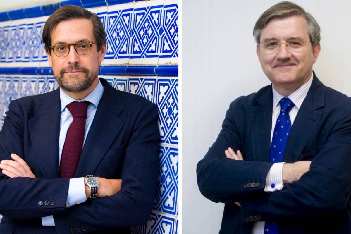 Federico de Montalvo y Rogelio Altisent, presidente y vicepresidente del Comité de Bioética de España.