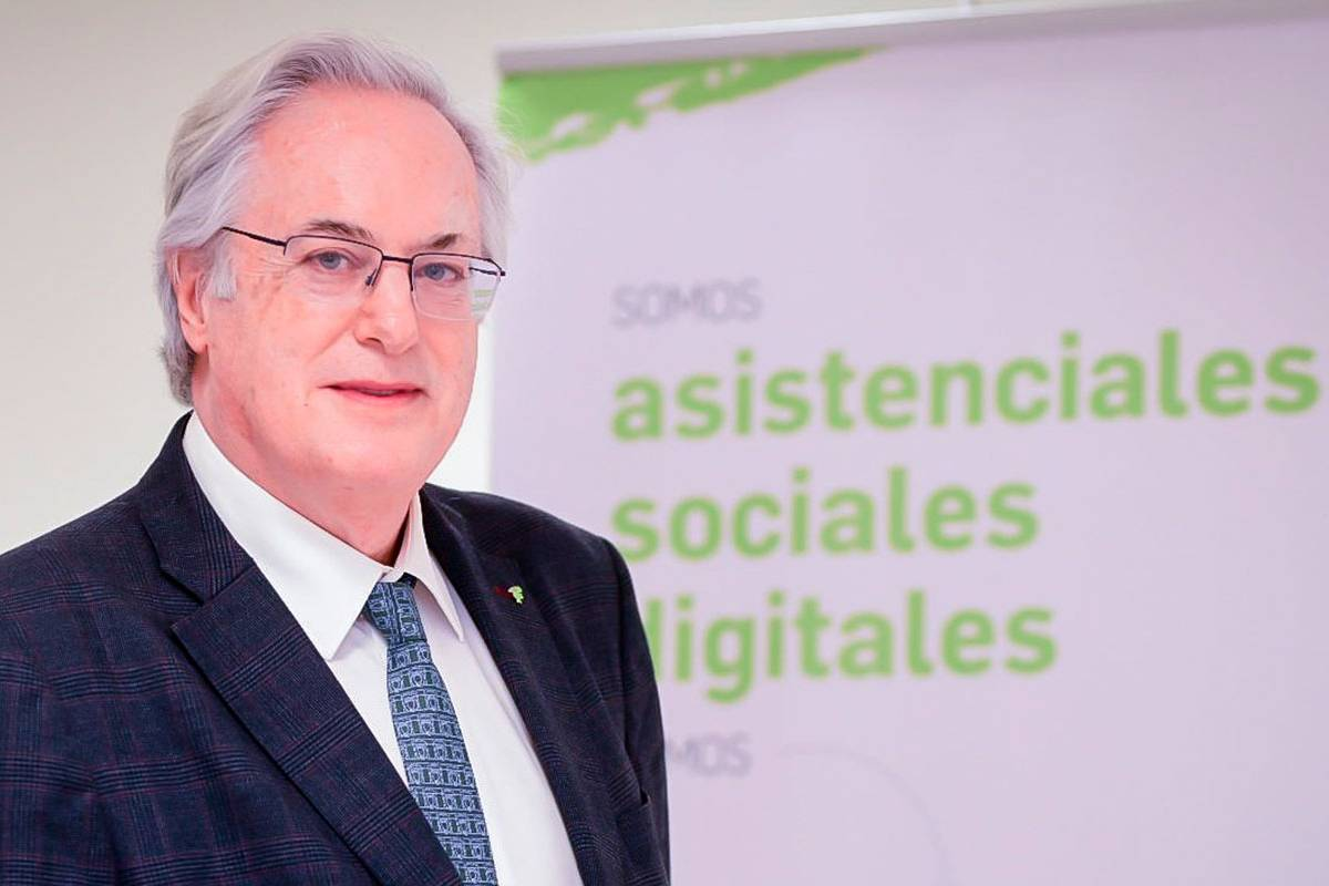 Miguel Ángel Gastelurrutia, presidente del COF de Guipúzcoa. /JL. Pindado.